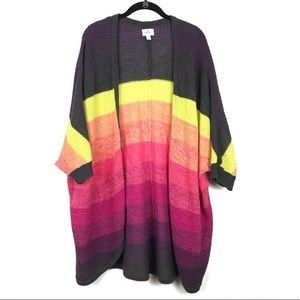 American eagle Rainbow Cardigan